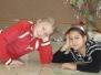 Posezení u vánočního stromečku 2009